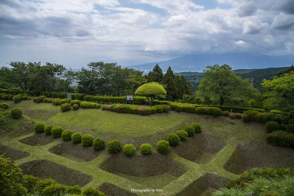 山中城跡(静岡県三島市)