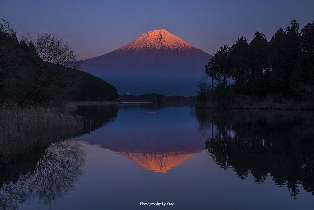 田貫湖(静岡県富士宮市)