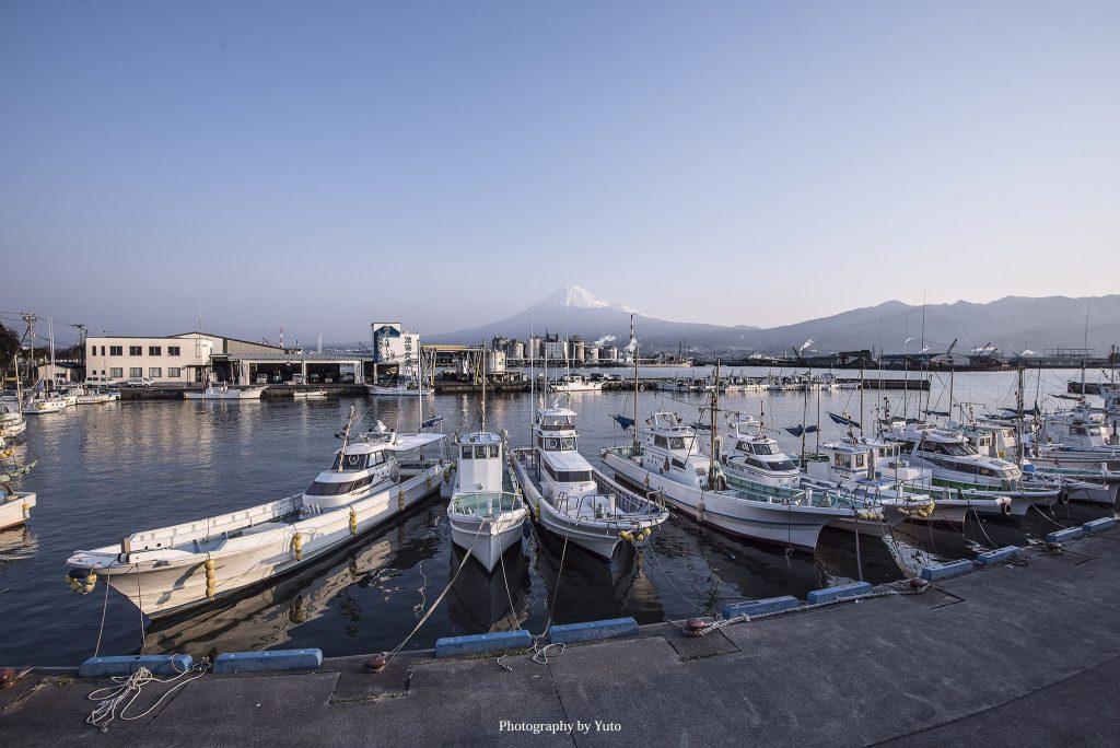 田子ノ浦漁港(静岡県富士市)