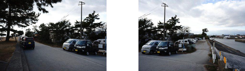 三重県鈴鹿市 千代崎海岸 無料駐車場