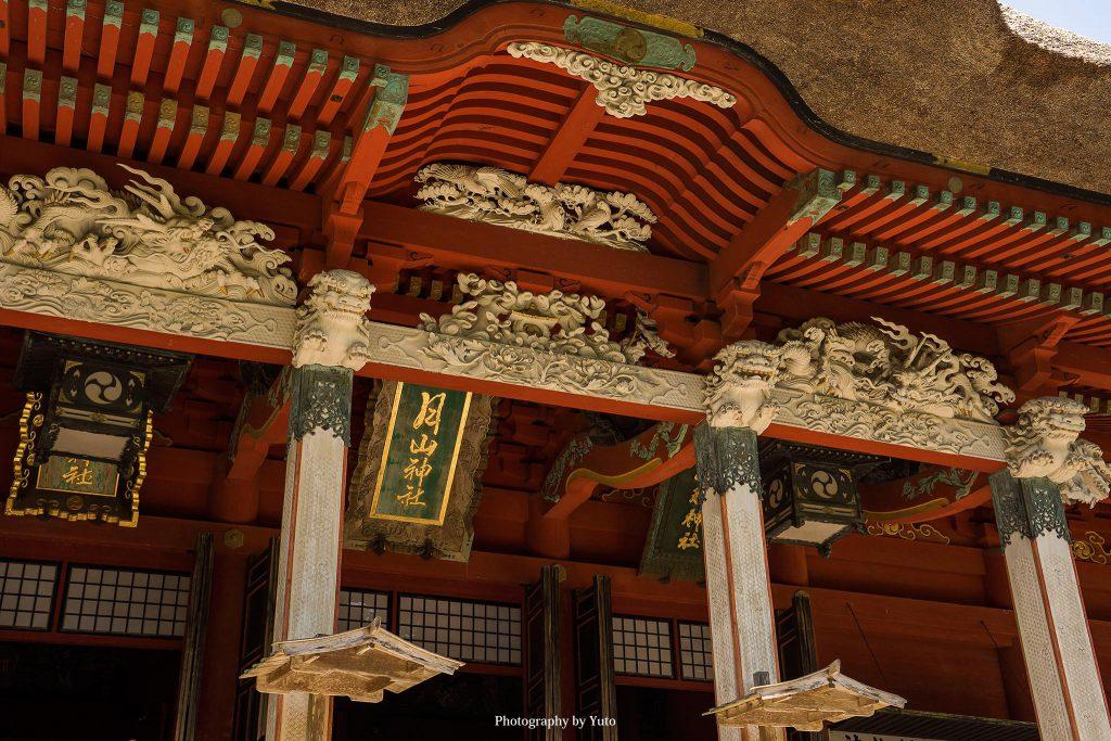 山形県鶴岡市 出羽三山神社 2019/8/18