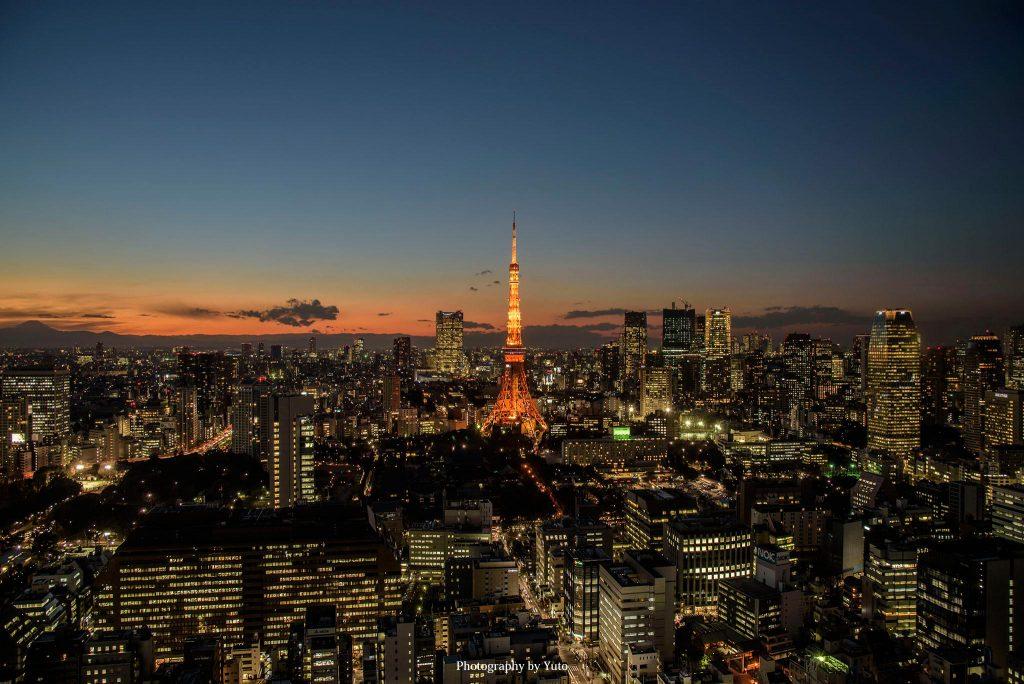 東京都港区 浜松町 世界貿易センタービル 東京タワー 2016/1/14