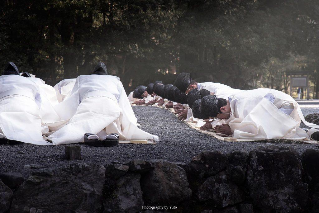 三重県伊勢市 伊勢神宮 内宮 春季皇霊祭遥拝 2016/3/20