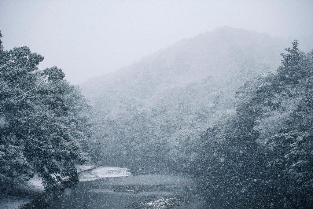 三重県伊勢市 伊勢神宮 内宮 五十鈴川 2017/1/23