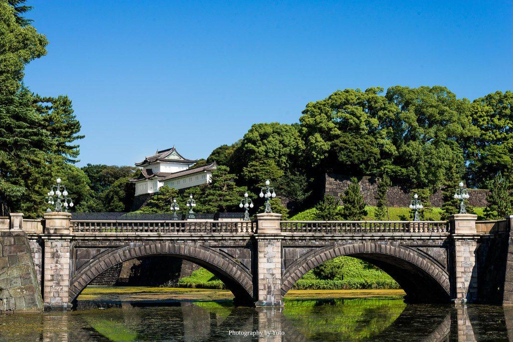 東京都千代田区 皇居 二重橋 2015/7/15