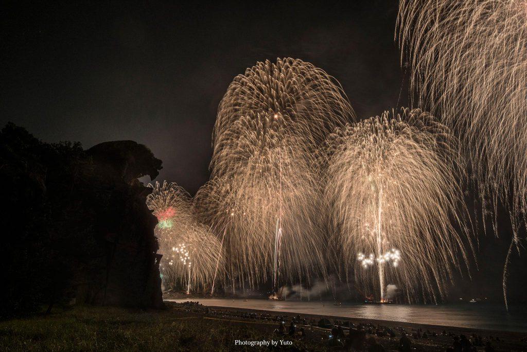 三重県熊野市 熊野大花火大会 2019/8/26