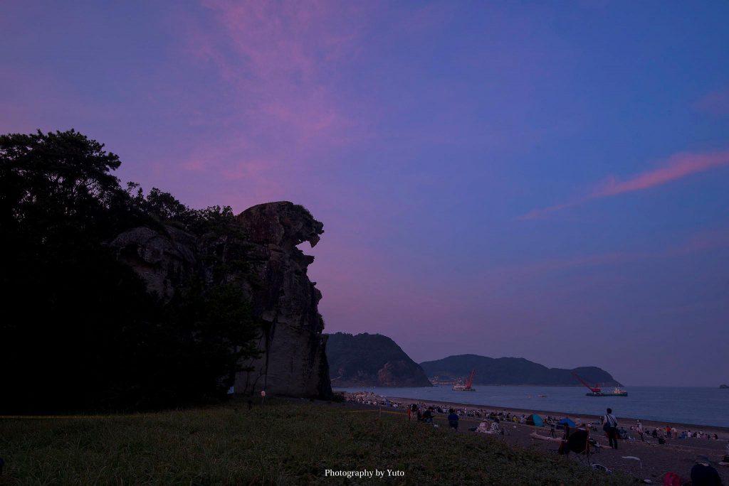 三重県熊野市 獅子岩 2019/8/26