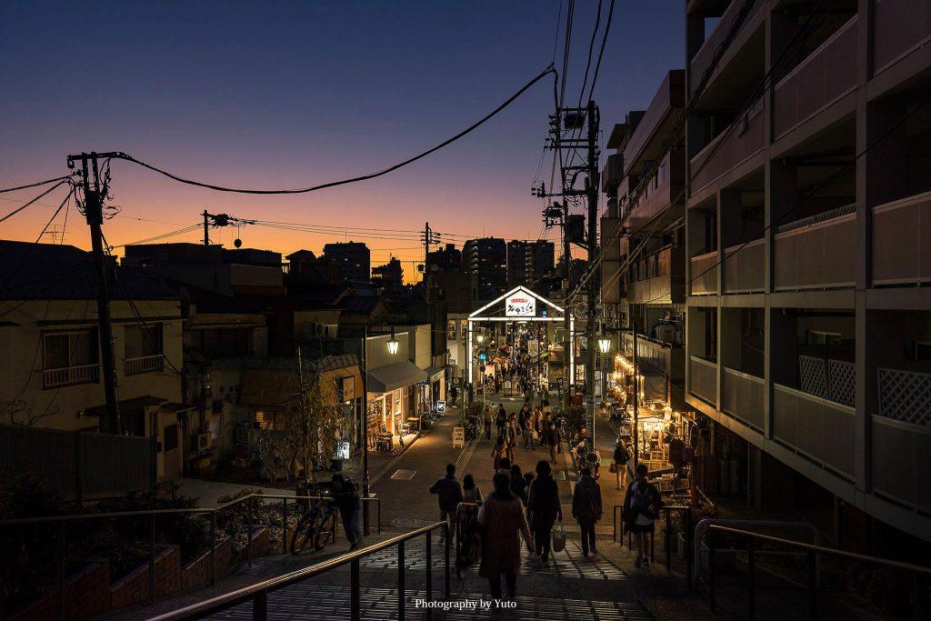 東京都荒川区 日暮里 夕焼けだんだん 2019/11/30