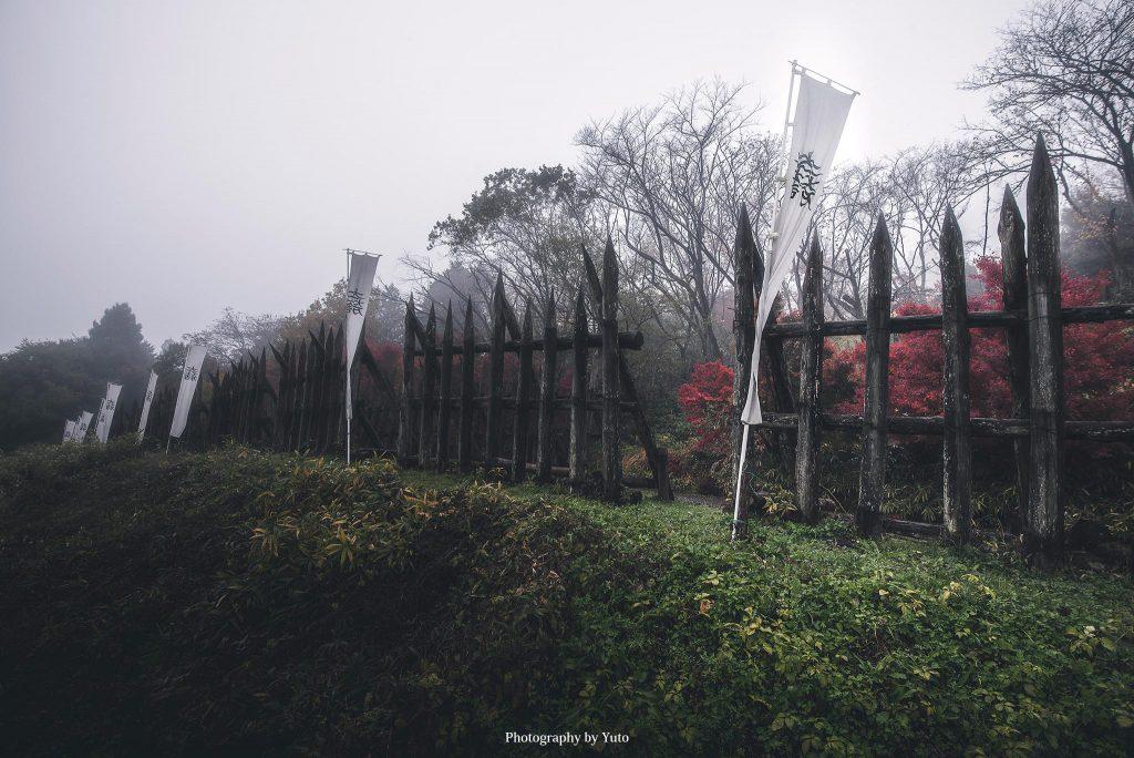 岐阜県関ヶ原町 関ヶ原古戦場 西軍本陣跡 2016/11/19