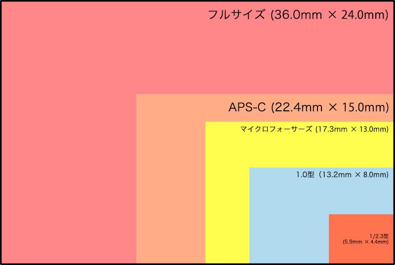 センサーサイズ