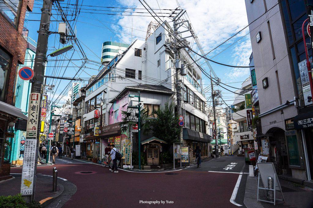 東京都世田谷区 下北沢 Y字路 2019/9/24