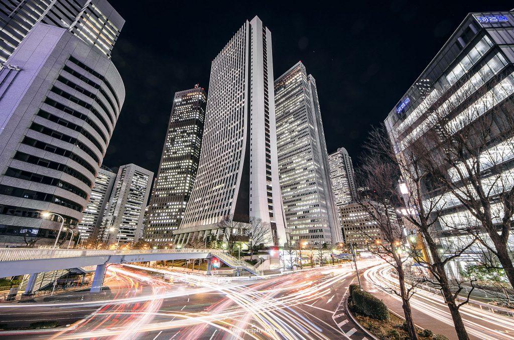 東京都新宿区 西新宿 2014/1/10
