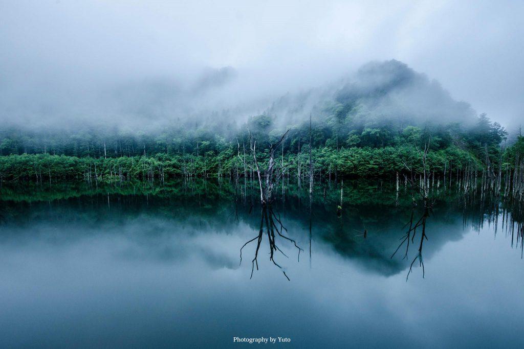 長野県王滝村 自然湖 2013/6/16