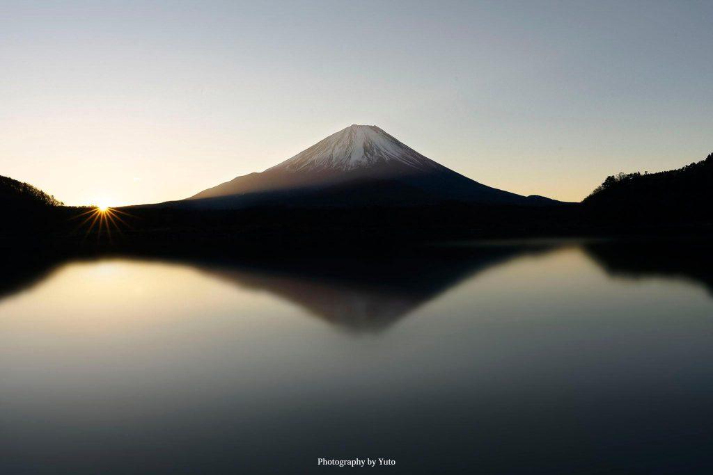山梨県富士河口湖町 精進湖 2019/1/3