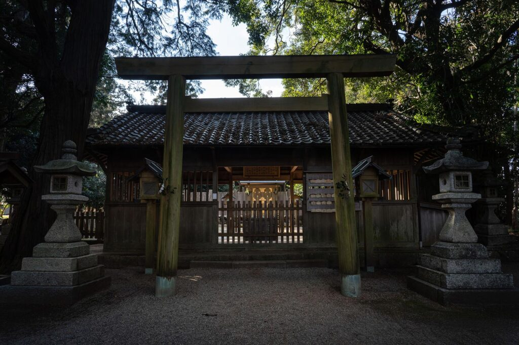 三重県明和町 竹神社 2021/2/3
