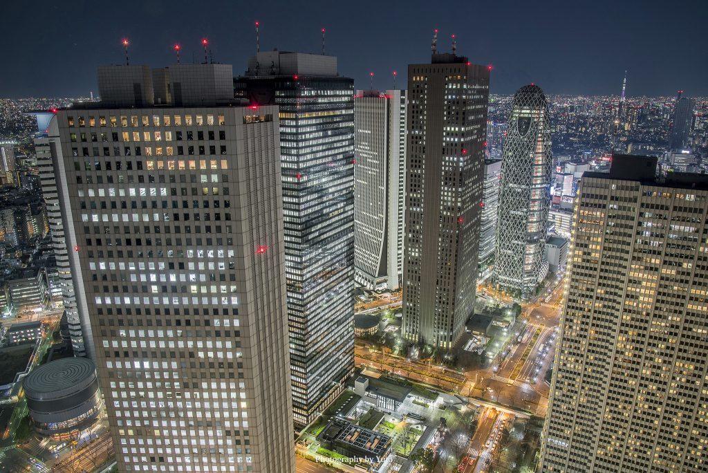 東京都庁からの新宿夜景 Nikon D750 + AF-S NIKKOR 24-120mm f/4G ED VR