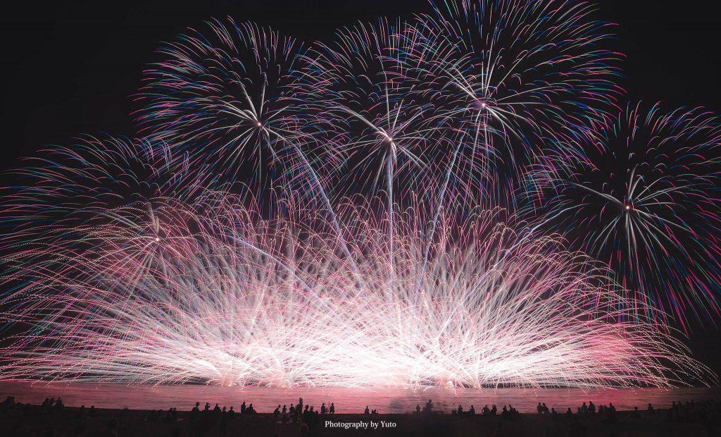 三重県津市 津花火大会 2017/7/29