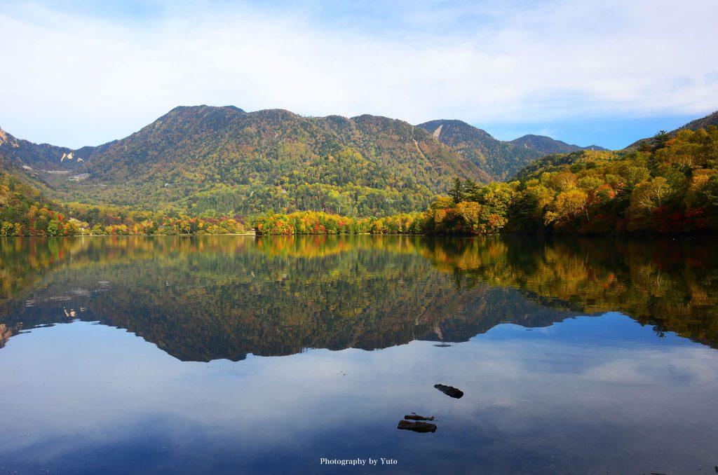 栃木県日光市 湯の湖 2012/10/14